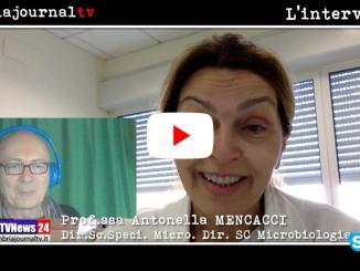 Covid carica virale e contagiosità, la professoressa Antonella Mencacci