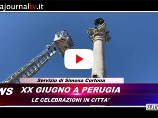 Celebrazioni del xx Giugno e albo d'oro a Perugia 🔴▶ VIDEO