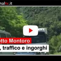 Chiusura viadotto Montoro, code e ingorghi sul raccordo