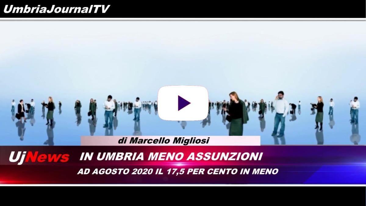Il telegiornale dell'Umbria webtv edizione della sera 31 luglio 2020 venerdì