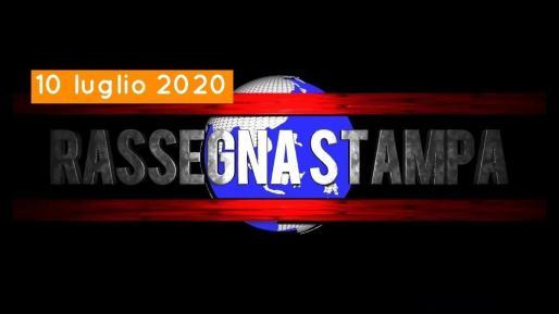 Video rassegna stampa e telegiornale dell'Umbria 10 luglio 2020