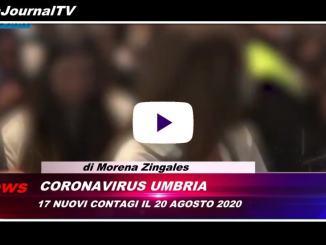 Telegiornale dell'Umbria edizione della sera Tg, 20 agosto 2020 giovedì