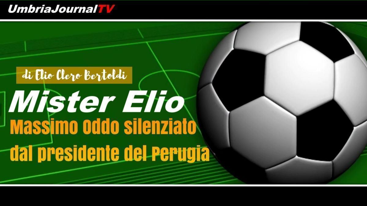 Mister Elio, l'allenatore del Perugia è stato silenziato prima di Grifo Pescara
