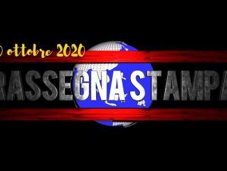 Rassegna stampa 20 ottobre 2020 e appello Donatella Tesei