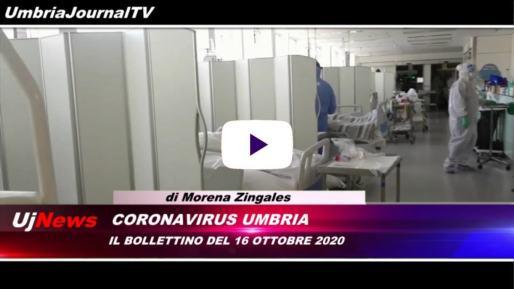 Telegiornale dell'Umbria edizione della sera Tg, 16 ottobre 2020 venerdì