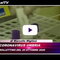 Telegiornale dell'Umbria edizione della sera Tg, 20 ottobre 2020 martedì