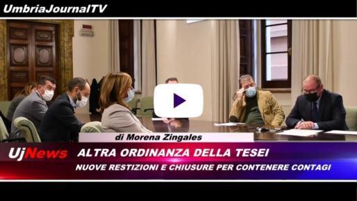 Telegiornale dell'Umbria edizione della sera Tg, 23 ottobre 2020 venerdì