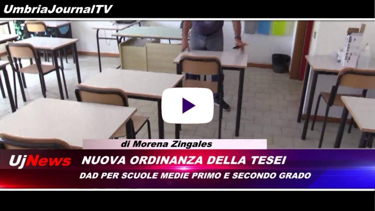 Telegiornale dell'Umbria edizione della sera Tg, 30 ottobre 2020 venerdì