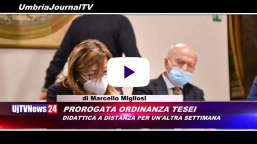 Telegiornale dell'Umbria edizione della sera Tg, 20 novembre 2020 venerdì