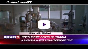 Telegiornale dell'Umbria edizione della sera Tg, 26 novembre 2020 giovedì