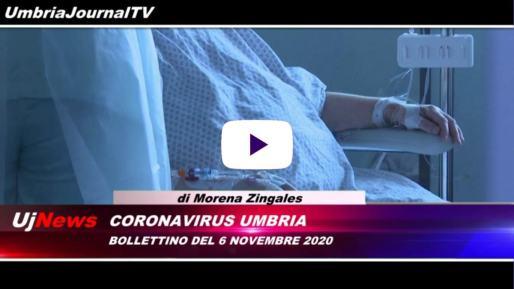 Telegiornale dell'Umbria edizione della sera Tg, 6 novembre 2020 venerdì