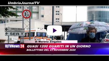 Telegiornale dell'Umbria edizione della sera Tg, 23 novembre 2020 lunedì