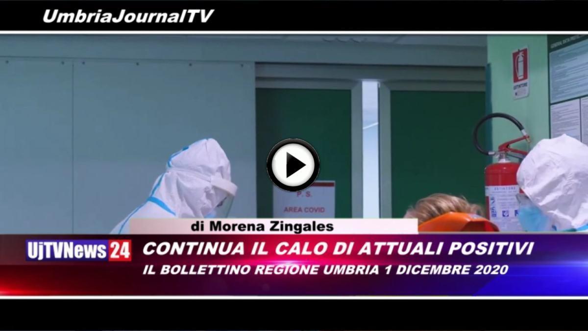 Telegiornale dell'Umbria edizione della sera Tg, 1 dicembre 2020 martedì