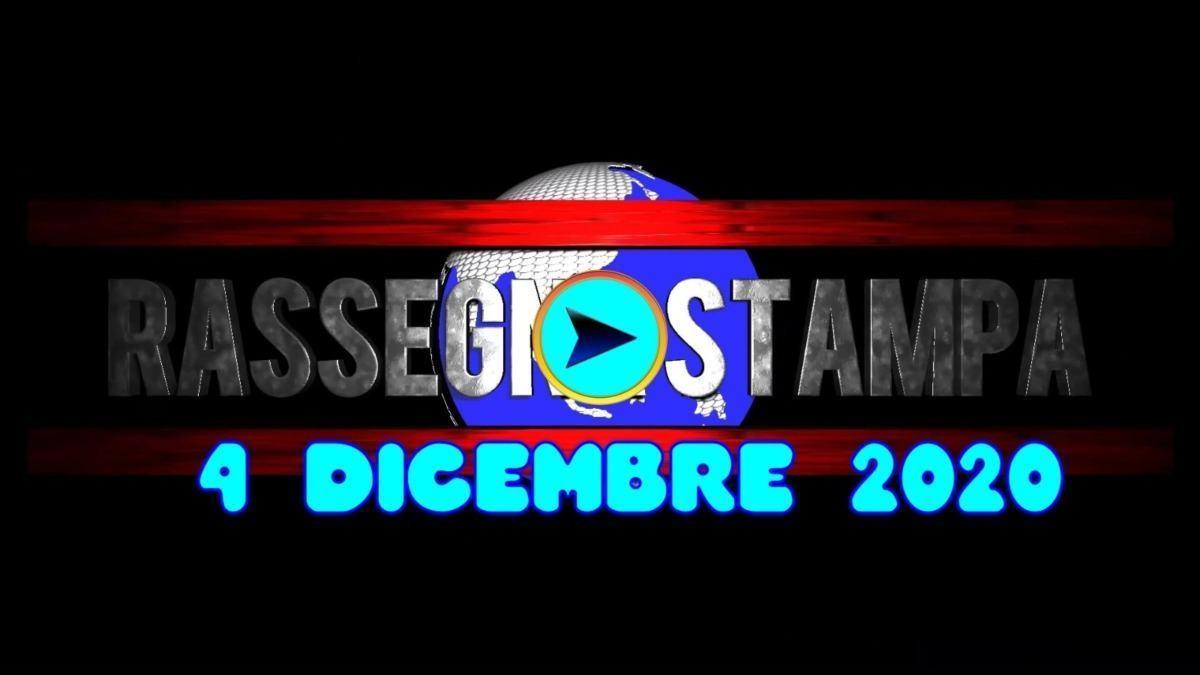 La video rassegna stampa del 4 dicembre 2020, prime pagine pdf