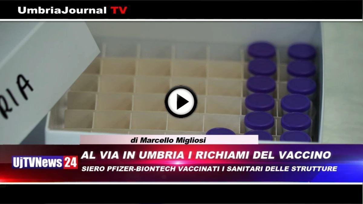 Telegiornale dell'Umbria edizione della sera Tg, 18 gennaio 2021 lunedì