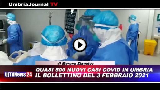 Telegiornale dell'Umbria edizione della sera Tg, 3 febbraio 2021 mercoledì