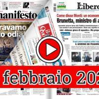 Rassegna stampa del 14 febbraio 2021 domenica prime in pdf