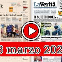 3 marzo 2021, la video rassegna stampa dei giornali in pdf