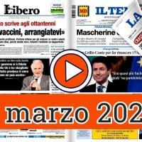 1 marzo 2021, la video rassegna stampa dei giornali in pdf