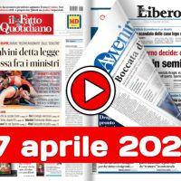 17 aprile 2021 la rassegna stampa di sabato 17 aprile 2021 in pdf