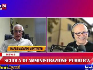 Scuola di amministrazione pubblica, intervista all'Amministratore, Marco Mogherini Montenero