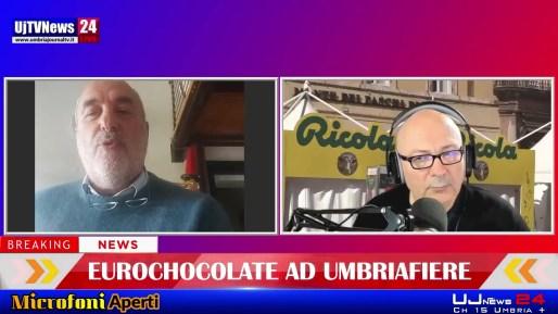 Eurochocolate si sposta a Umbriafiere, intervista a Eugenio Guarducci