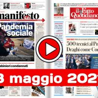 Rassegna stampa nazionale e locale in pdf 8 maggio 2021, i giornali in pdf