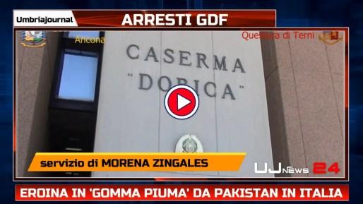 Eroina in ''gomma piuma'' da Pakistan in Italia, sequestri anche in Umbria
