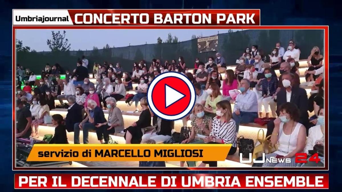 Decennale di Umbria Ensemble, concerto al Barton Park