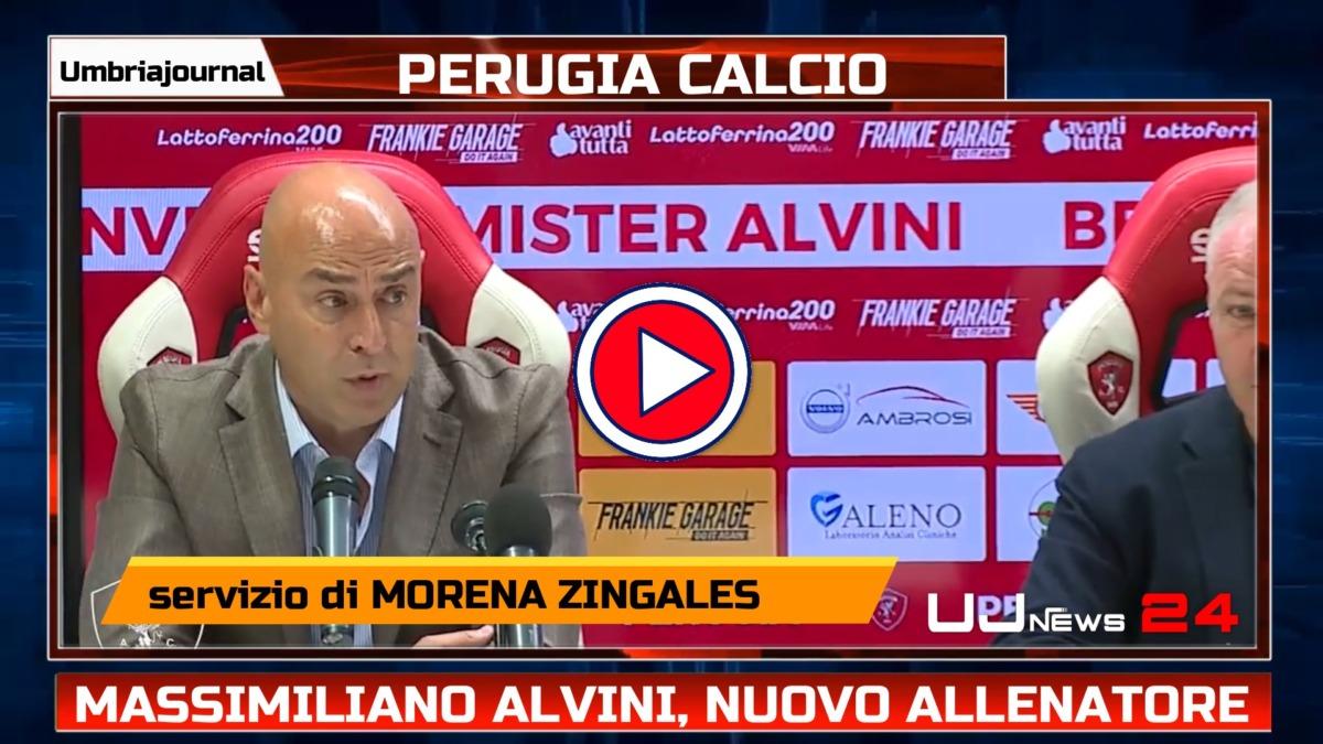 Massimiliano Alvini, nuovo allenatore del Perugia Calcio