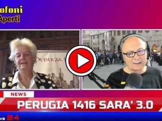 A Microfoni Aperti, video intervista a Teresa Severini, presidente Perugia 1416