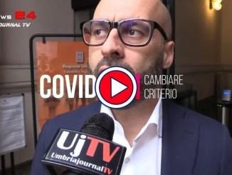 """Marco Squarta, presidente consiglio regionale Umbria, dice: """"Vanno rivisti parametri colori covid"""""""