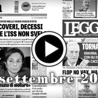Prime pagine giornali in pdf rassegna stampa scaricabile 2 settembre 2021