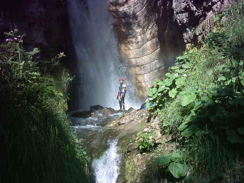 Gole del fiume Ussita
