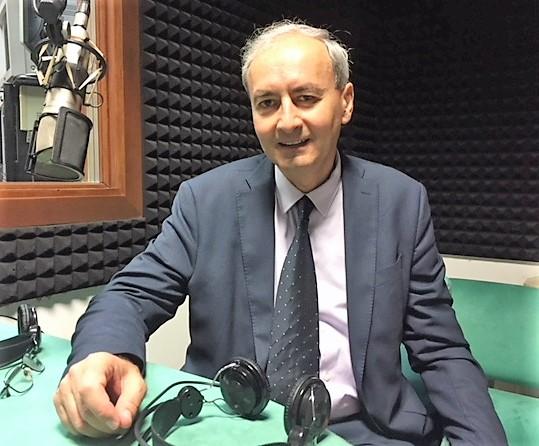 Marcello Signorelli docente di Economia all'Università di Perugia negli studi di Umbriaradio