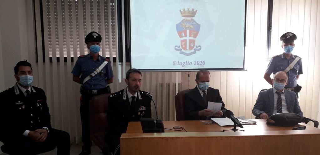 Un momento della conferenza stampa (foto Lombardini)