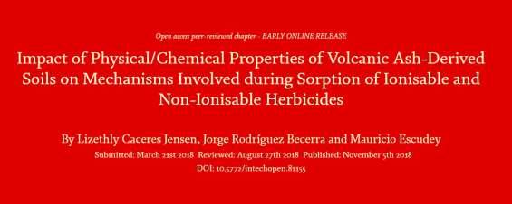 Académicos del Departamento de Química publican capítulo de libro en destacada editorial científica de acceso abierto