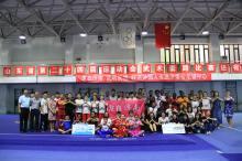 同学们到济南市体育运动学校参观 。