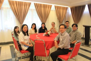 中文系的老师们。