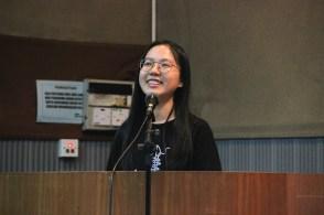 第34届文学双周主席王冠燕致辞。