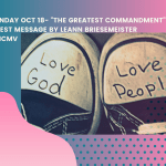 Guest Message October 18 by LeAnn Briesemeister