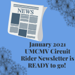 Monthly Newsletter – January 2021 Circuit Rider
