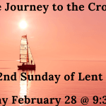 Sunday February 28 Worship @ UMCMV- 9:30 AM in person or online