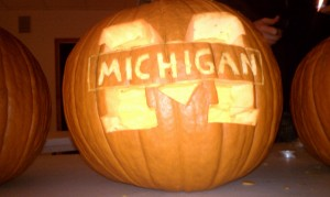Michigan Jack-O-Lantern