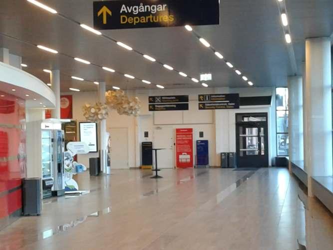 Umeå Airport Empty