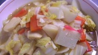 かまぼこレシピ 野菜たっぷり八宝菜風