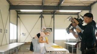 夏休み行楽スポットの特番でU-mei館(ユウメイカン)の細工体験の取材がありました