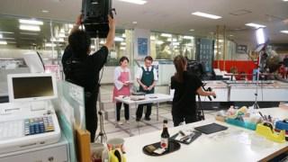 今日、NHKニュースで梅かまの取材の模様が放送されます
