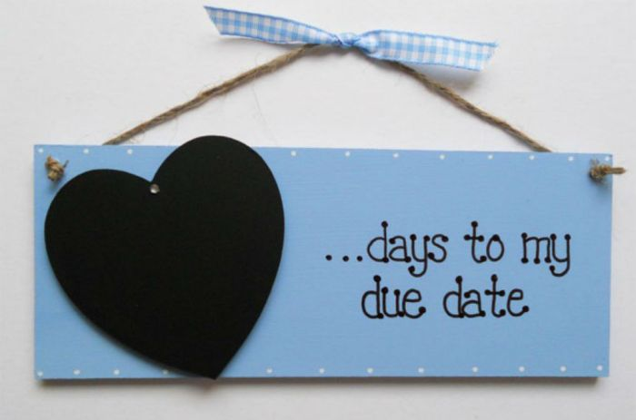 days to my due date