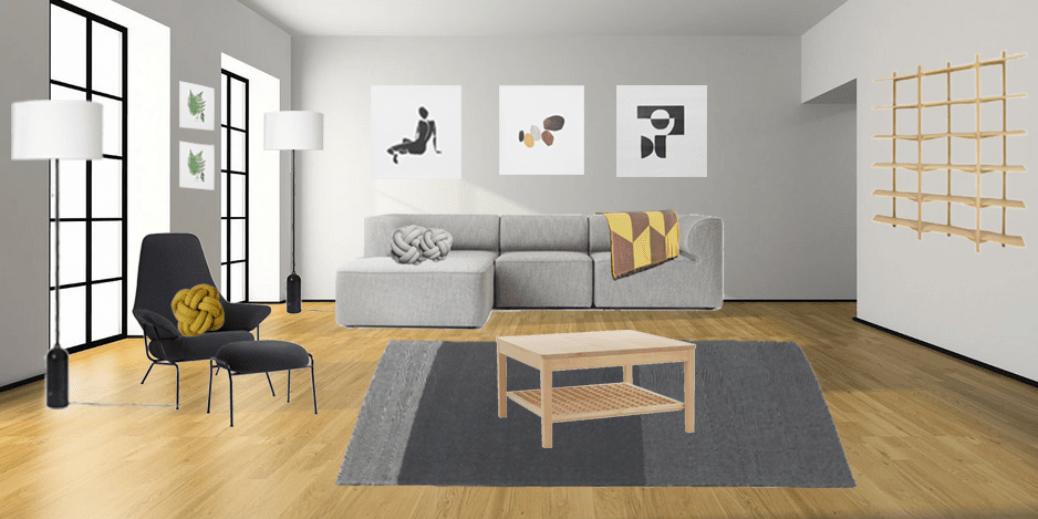 scandinavian living room design white laminate floor decorating a dream